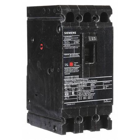 3P High Interrupt Capacity Circuit Breaker 15A 480VAC