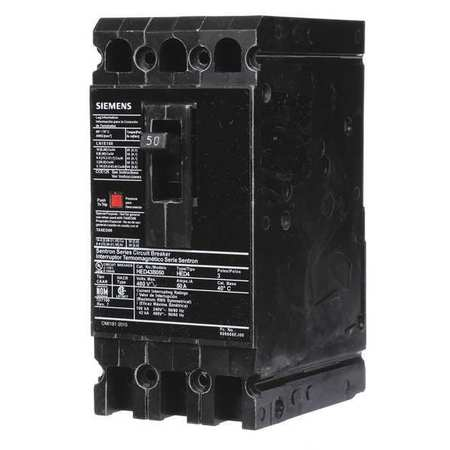 3P High Interrupt Capacity Circuit Breaker 50A 480VAC