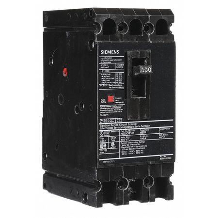 3P High Interrupt Capacity Circuit Breaker 100A 480VAC