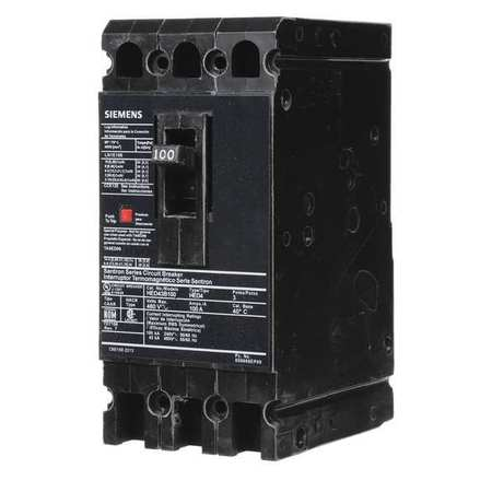 3P High Interrupt Capacity Circuit Breaker 100A 480VAC