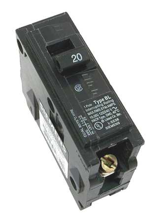 1P Standard Bolt On Circuit Breaker 15A 120VAC