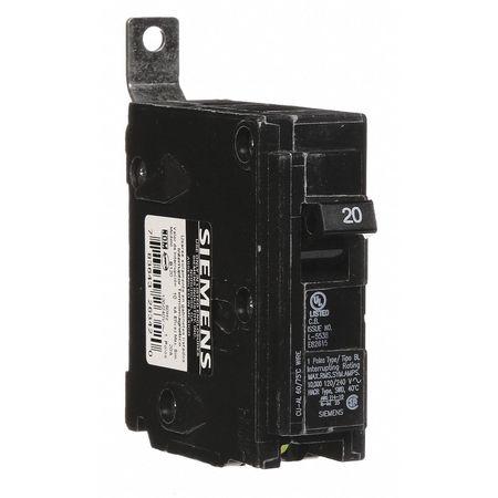 1P Standard Bolt On Circuit Breaker 20A 120VAC