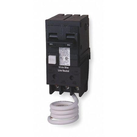 2P GFCI Plug In Circuit Breaker 20A 120/240VAC