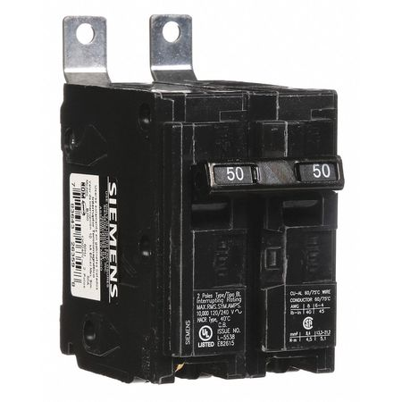 2P Standard Bolt On Circuit Breaker 50A 120/240VAC
