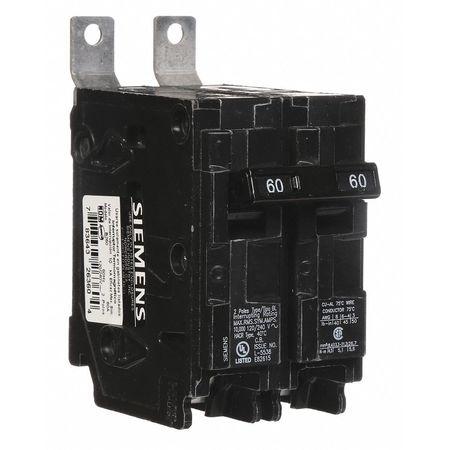 2P Standard Bolt On Circuit Breaker 60A 120/240VAC