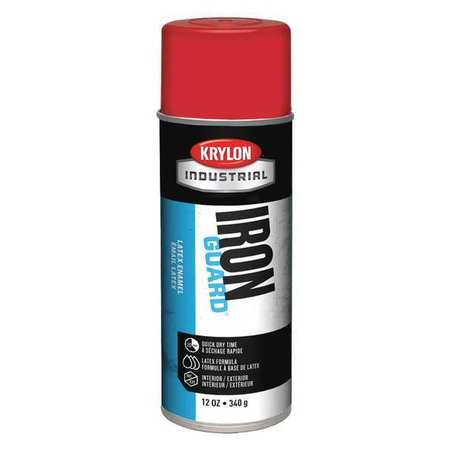 Spray Paint, OSHA Red, 12 oz.