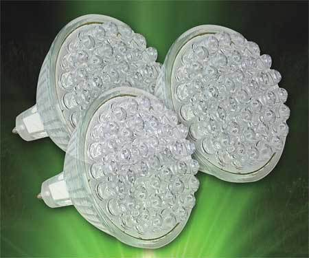 LED Light Set,  Green, 120V