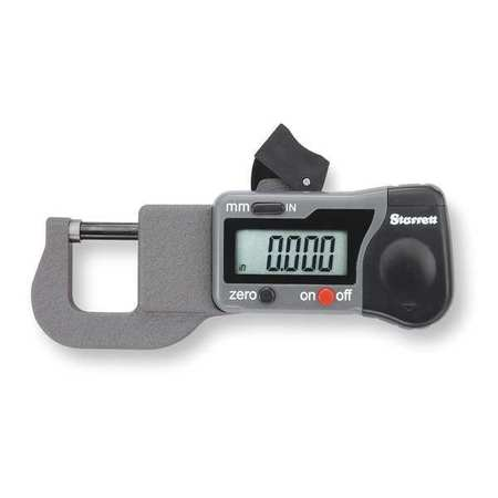 Digital Thickness Gage, 0-0.500 In