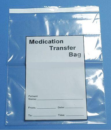 Biohazard Bags, 0.5 gal., Clear, PK1000