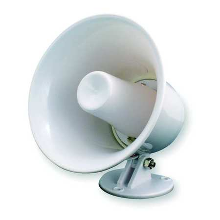 PA Horn, Weatherproof, White, 10 W