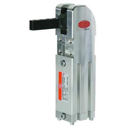 Pneumatic Clamp, 81L12, 120 Deg, 221 In-Lbs