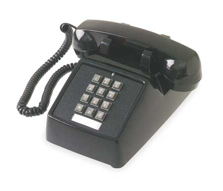 Standard Desk Phone,  Black