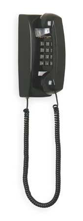 Standard Wall Phone,  Black