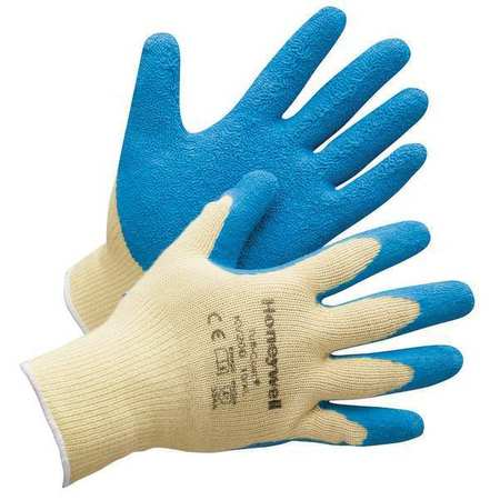 Cut Resistant Gloves, Yellow/Blue, 2XL, PR