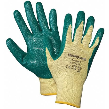 Cut Resistant Gloves, Yellow/Green, M, PR