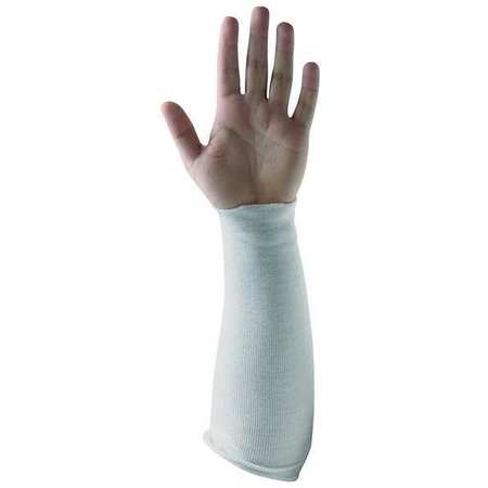 Cut Resistant Sleeve, 14 In. L, White