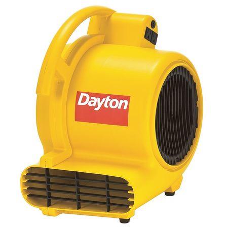 Carpet/Floor Dryer, 120V, 1000 Cfm, Yellow