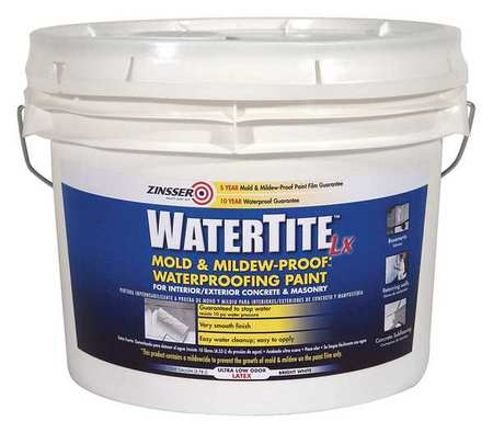 Zinsser Mold And Mildew Paint 3 Gal White 270268