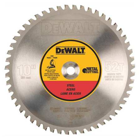 Dewalt circular saw blade steel 10in dwa7759 zoro circular saw blade steel 10in keyboard keysfo Images