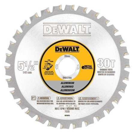 Dewalt circular saw blade aluminum 5 12in dwa7760 zoro circular saw blade aluminum 5 12in greentooth Gallery