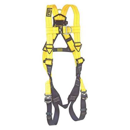 Dbi sala vest style harnesses w front back drings 1102090 for Sala safety harness