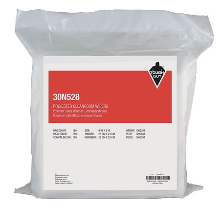 Tough Guy Clean Room Wipes, 9\