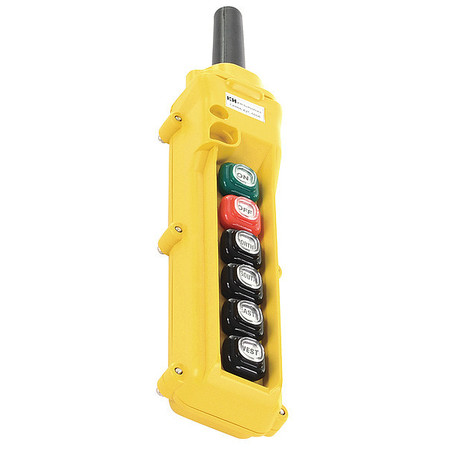 Buy control stations free shipping over 50 zoro link to product pendant station 6 push button no nc aloadofball Choice Image