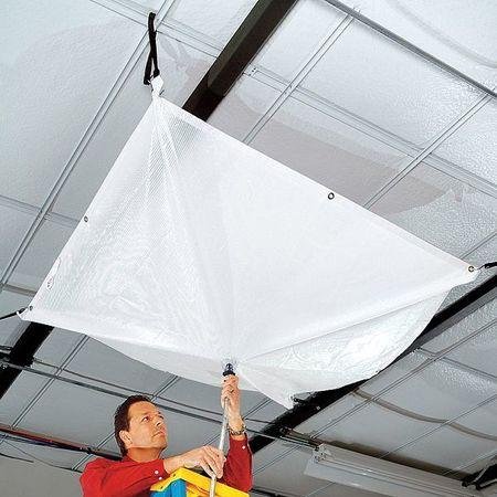 Roof Leak Diverter, Clear, 2.69 Lb.