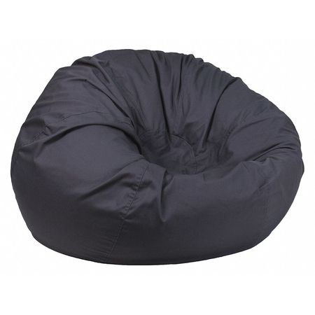 Details About Flash Furniture Dg Bean Large Solid Gy Gg Bag Chair Oversized Gray
