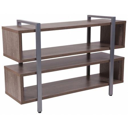 Flash Furniture Tv Stand Metal Drawers Black Metal Legs Nan Jh