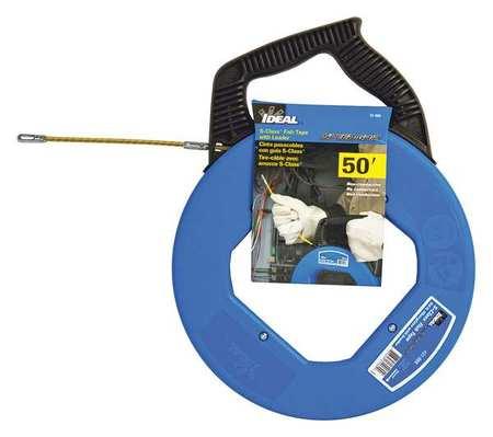 Ideal fish tape 3 16 in x 50 ft fiberglass 31 060 for Ideal fiberglass fish tape