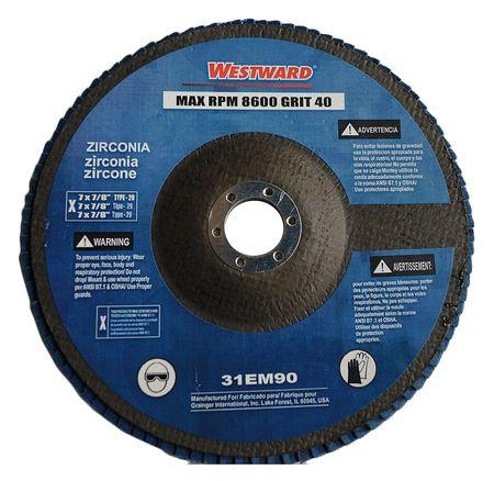 SCOTCH-BRITE HS-DC Fiber Disc,6x1//4in,VF,AlO