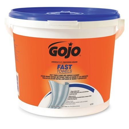 GOJO Hand Cleaning Towels, 225, Bucket, PK2