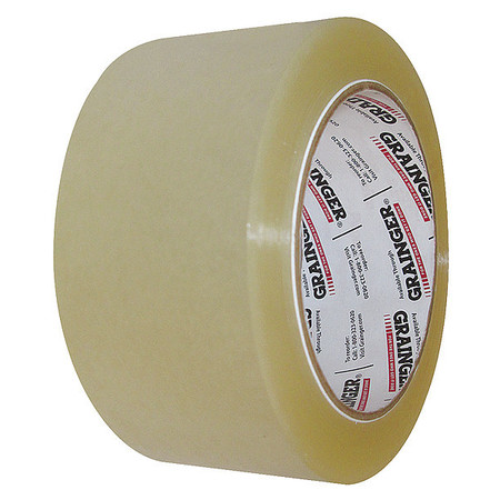 Carton Sealing Tape, Clear, 48mmx50m, PK6