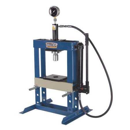 baileigh industrial hydraulic press, 10 t, manual pump, 36 in hsp elevator controller wiring diagram hydraulic press, 10 t, manual pump, 36 in