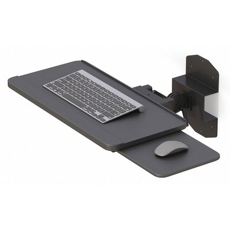 afc industries wall mounted foldable keyboard tray 772464g. Black Bedroom Furniture Sets. Home Design Ideas