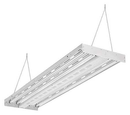 Lithonia Lighting Fluorescent High Bay Fixture, T5, 216W IBZT5 4 ...