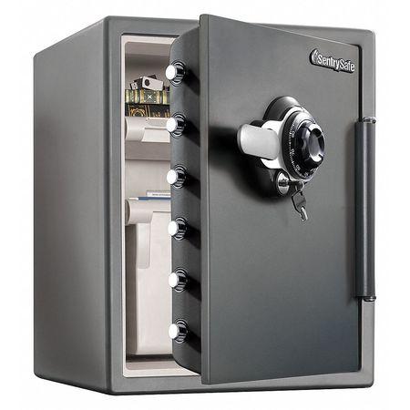 sentry safe fire safe 2 05 cu ft gray sfw205dpb zoro com