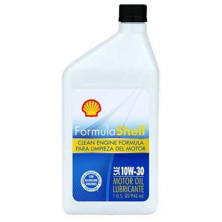 Formula Shell Motor Oil 1 Qt 10w 30 Conventional