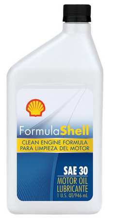 Formula Shell Engine Oil Sae 30w Conventional 1 Qt 550024070