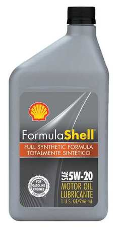Formula shell motor oil 1 qt 5w 20 synthetic 550024076 for Synthetic motor oil coupons