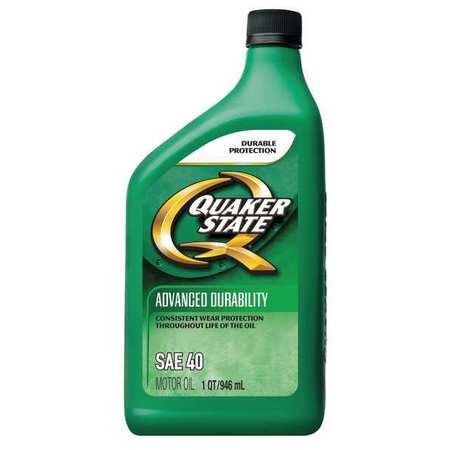 Quaker state motor oil 1 qt 40w hd 550024108 for Quaker state conventional motor oil