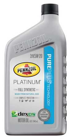 pennzoil motor oil platinum 1 qt 5w 20 synthetic