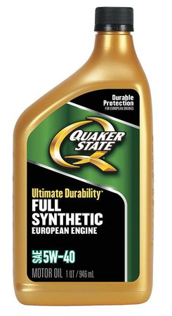 Quaker state motor oil 1 qt 5w 40 full synthetic for What is synthetic motor oil made out of