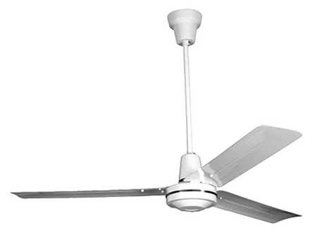 Leading edge 56 commercial ceiling fan white 1 speed cpf56 zoro 56 commercial ceiling fan white aloadofball Images