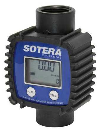 Sotera FR1118P10 Inline Flowmeter Blue//Black Tuthill Digital