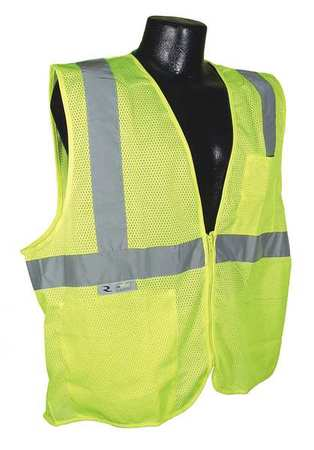 4XL High Visibility Vest,  Green