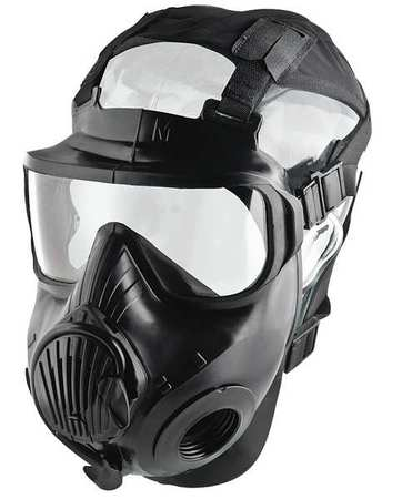 Avon Protection Systems Mask Twin Port Pu Lens Rubber