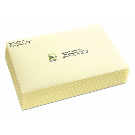 avery clear address label laser 1 33 x4 pk700 5662 zoro com