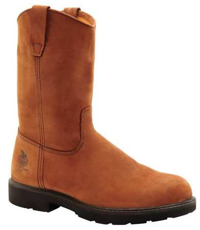 GEORGIA BOOT G6374 012M Work Boots,Stl,Mn,12M,Brown,PR